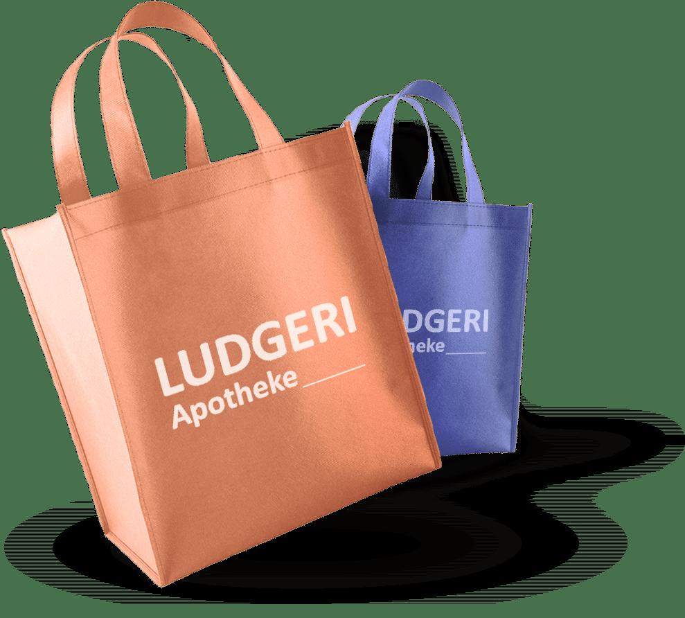 Ludgeri Apotheke Einkaufstaschen
